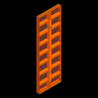 LOGO.pro Element 90x270cm incl. 2 Wechselhülsen
