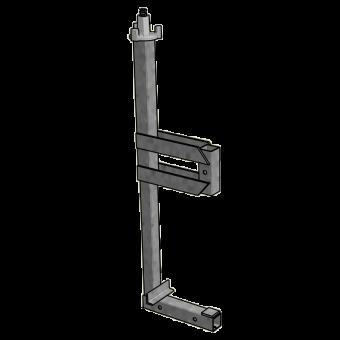 Klemme Seitenschutz (bis 60cm) Secuset