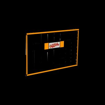 Seitenschutzgitter 130x80cm Secuset