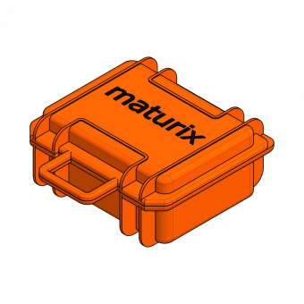 Maturix suitcase with