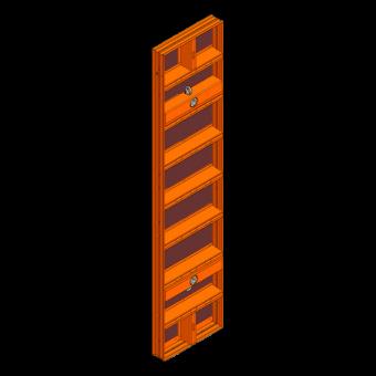 LOGO.pro Element 60x270cm incl. 2 Wechselhülsen