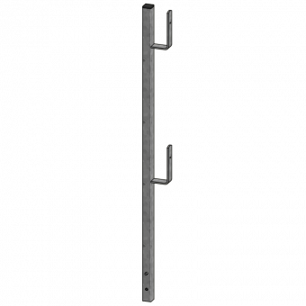 Railing post 120cm lateral protection