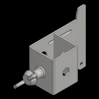 Halter Seitenschutzgitter Secuset