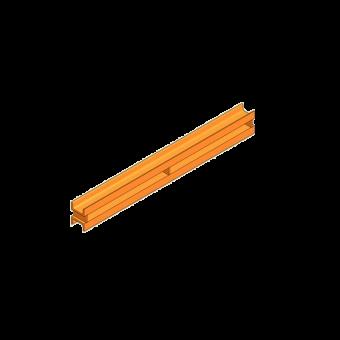 Double channel waler U 60 length 80 cm