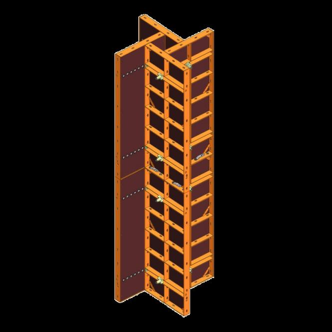 achat de coffrage pour poteaux treillis variable webshop. Black Bedroom Furniture Sets. Home Design Ideas